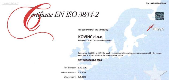 ISO EN 3834-2