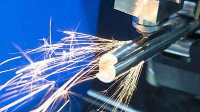 Fasertechnologie und Schneiden von Rohren