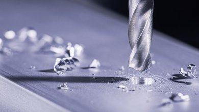 Bohren in Metall