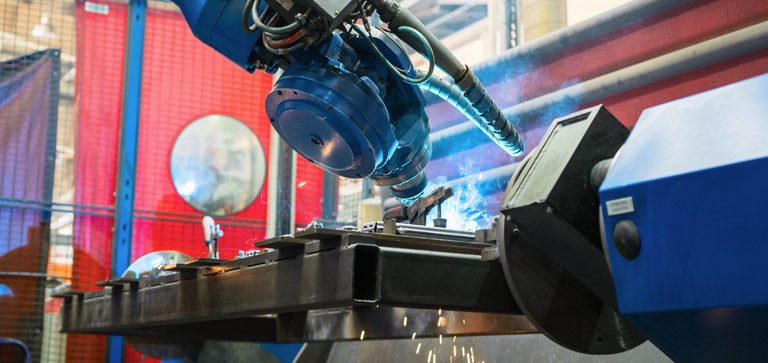 Vorteile beim Roboterschweißen